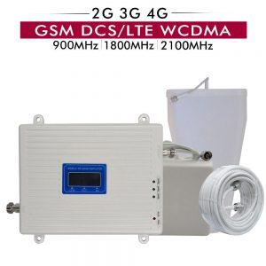 Repetidores de Sinal 2G+3G+4G